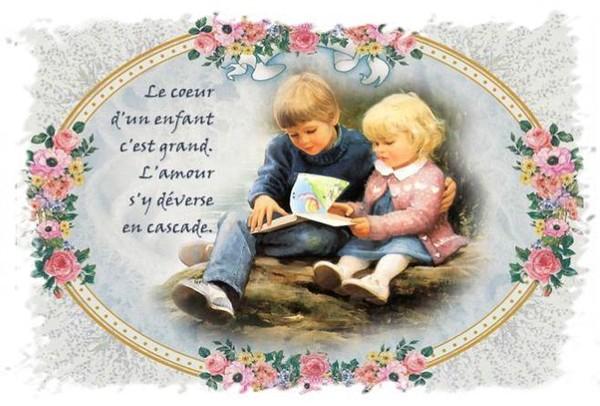 Le coeur d'un enfant